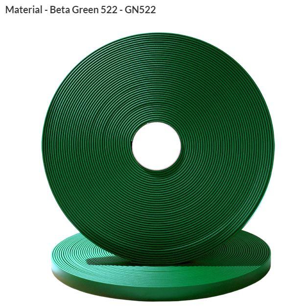 Original Biothane® Material / ganze Rollen  25mm tannengrün (GN522)