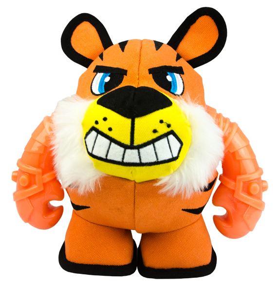 MIGHTY BEAST - Das Hundespielzeug aus Leinenstoff und TPR M  Tiger