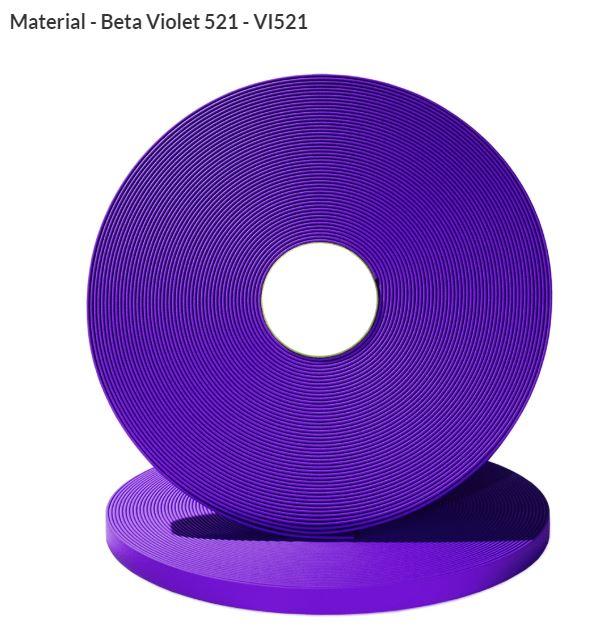 Original Biothane® Material / ganze Rollen  13mm violett (VI521)