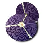 ORIGINAL Biothane® auf Rollen 30,5m pro Rolle 9mm  violett