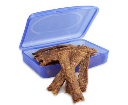 Fleisch-Streifen in der Lunchbox 250g