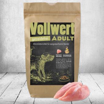 Schecker -  DOGREFORM Vollwert Adult, getreidefrei, Hundefutter, Trockenfutter 1,5 kg
