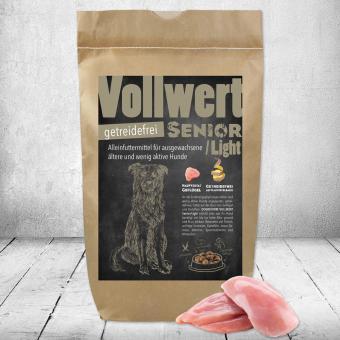 Schecker -  DOGREFORM Vollwert Senior / Light getreidefrei, Hundefutter, Trockenfutter 1,5 kg