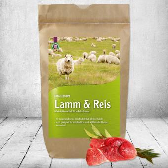 Schecker - Schecker DOGREFORM Lamm & Reis, 12 kg