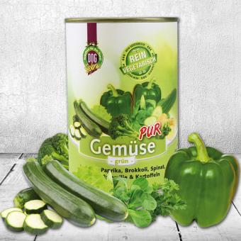 Schecker - Dogreform Gemüse PUR, grün, 1 x 410 g