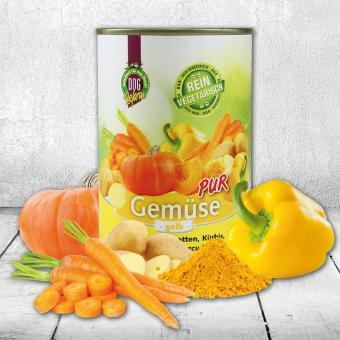 Schecker - Dogreform Gemüse PUR, gelb, 1 x 410 g