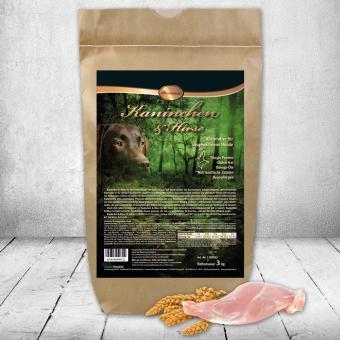 Schecker - Premium Kaninchen & Hirse, 1,5 kg