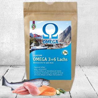 Schecker - Omega 3+6 Lachs, mit Geflügel und Muschelfleisch   - 3kg
