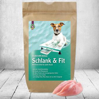 Schecker - Schecker DOGREFORM Wellness Schlank & Fit, 3 kg