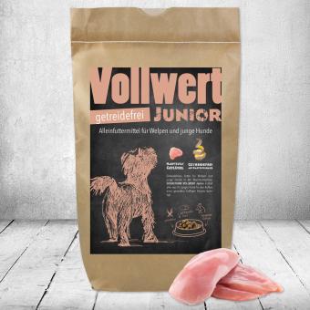 Schecker -  Vollwert-Junior, getreidefrei, 1,5 kg