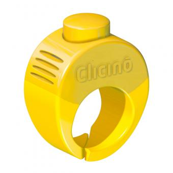 Clicino Clicker Ring L (21mm) | Sunny Yellow