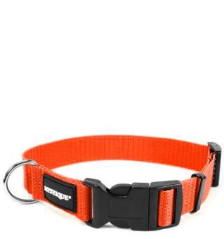 MYSTIQUE® Nylon Halsband (30mm) orange