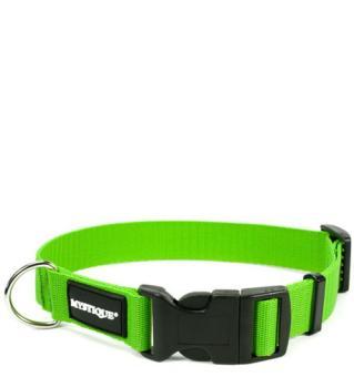 MYSTIQUE® Nylon Halsband (30mm) grün