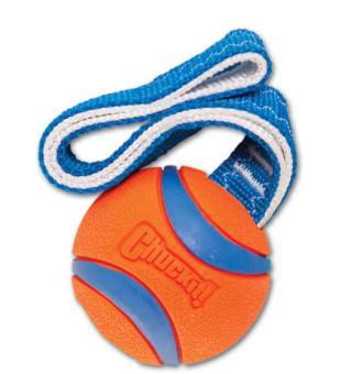 CHUCKIT! - Ball mit Handschlaufe (Ultra Tug) S