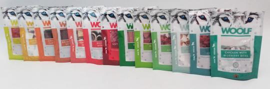 WOOLF Leckerlie 10 Packungen bunt gemischt