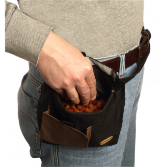 KARLIE Trim Treat Futter- und Belohnungstasche (Einhand-Leckerlietasche)
