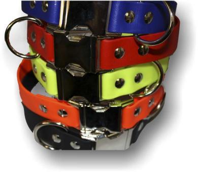 BIOTHANE® Halsband mit Metallverschluß 19mm breit
