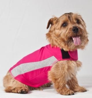 Thundershirt pink in 7 Größen (XXS-XXL)