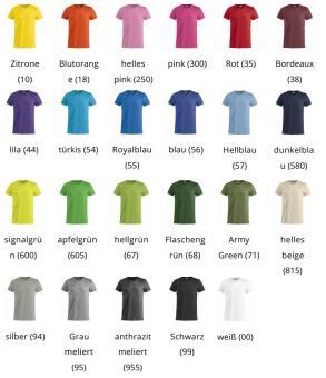 T-Shirt mit 4-farbigem Druck
