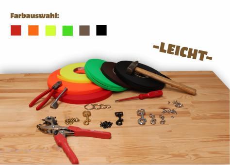 """Biothane® Leinen-Baukasten """"Leicht"""" (SuperFlex) 9mm,13mm, 16mm, 19mm"""