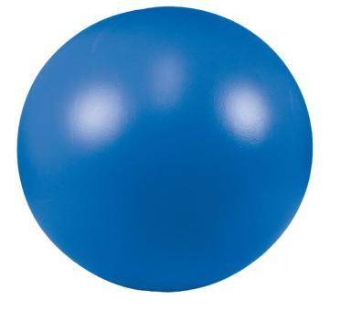 Treibball in drei Farben / speziell für Hunde Blau - 28cm Durchmesser