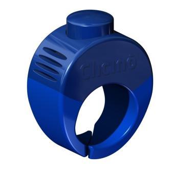 Clicino Clicker Ring XL (22.5mm) | Diva Blue