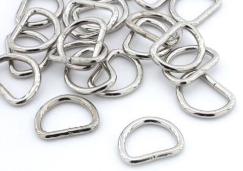 D Ringe aus Metall für Hundeleinen