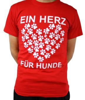 """FUN-Shirt: """"Ein Herz für Hunde"""""""