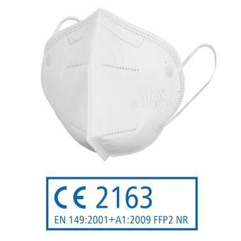FFP2 Atemschutzmaske mit CE-Kennzeichnung