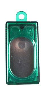 Kasten-Clicker (transparent) Grün