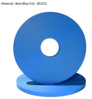 ORIGINAL Biothane® Meterware 9mm | 5.00m | himmelblau (BU521)