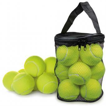 Hunde-Tennisbälle (12er Set oder 6er Set)