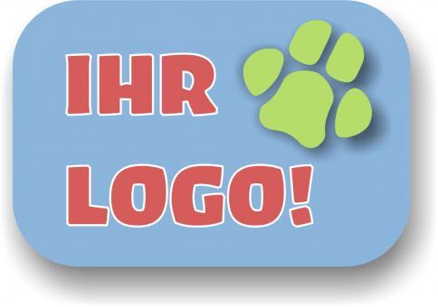 Clickerveggy mit Kundenlogo: im ÖKO-Beutel 400g mit Kundenlogo: |  Banane mit Kokos im ÖKO-Beutel 400g mit Kundenlogo liefern!
