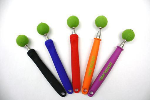 Targetstick mit Soft-Ball Schwarz