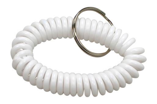 Clickerarmband Standard Weiß