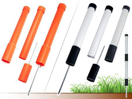 MYSTIQUE® Markierstab (Einweisestab) orange und schwarz