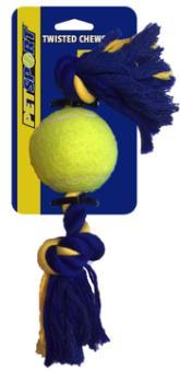 2-Knoten-Seil mit Tennisball