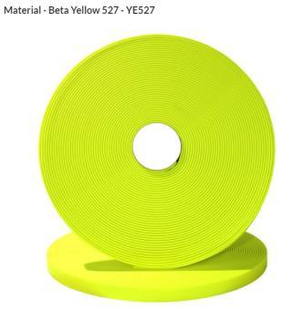 Original Biothane® Material / ganze Rollen  16mm | neongelb (YE527)