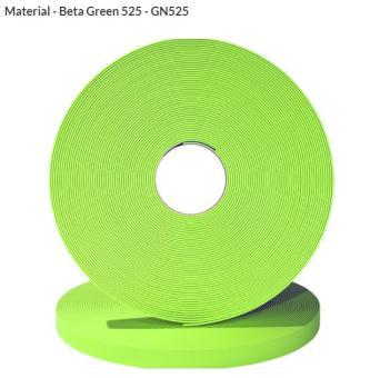 Original Biothane® Material / ganze Rollen 9mm   apfelgrün (GN525)