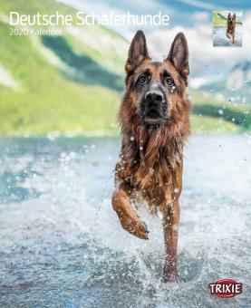 TRIXIE Kalender Deutsche Schäferhunde