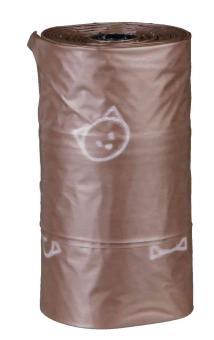 TRIXIE Katzenkotbeutel, kompostierbar, 3 Rollen à 10 St., ca. 3 l