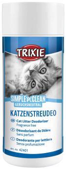 TRIXIE Simple'n'Clean Katzenstreudeo, geruchsneutral, 200 g