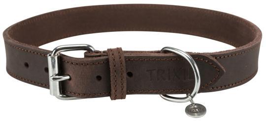 TRIXIE Rustic Fettleder Halsband