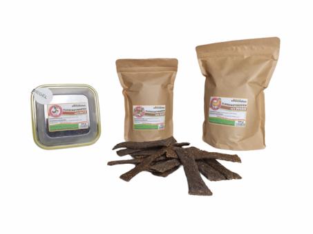 Fleisch-Streifen 100% Natur 500g im ÖKO-Beutel | Ente