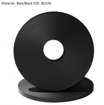 Original Biothane® Material / ganze Rollen 9mm | schwarz (BL520)