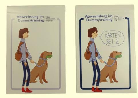 Kartensets: Abwechslung im Dummytraining Teil 1 & 2