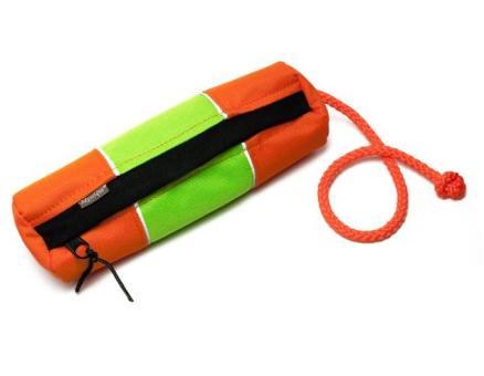 MYSTIQUE® Snackdummy reflektierend -small- Neongrün/orange