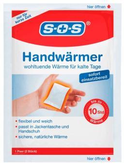 SOS Handwärmer 5x2 Stück / sofort einsetzbar!