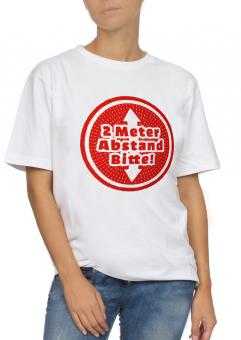 "T-Shirt unisex ""Abstand halten"""